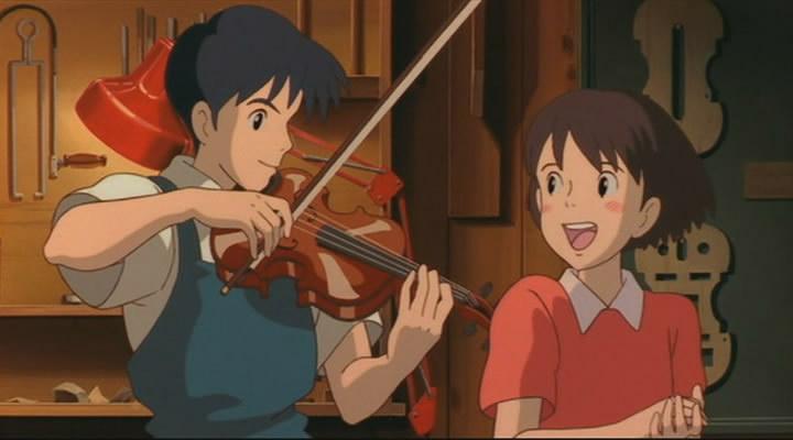 шепот сердца аниме смотреть онлайн:
